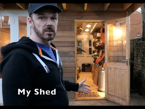 A TOUR OF MY MAN CAVE / SHE SHED