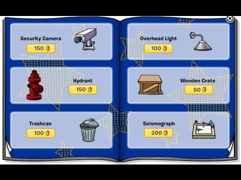 Club Penguin - April 2013 Furniture Catalog Cheats