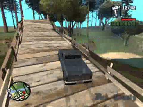 GTA San Andreas Unique Stunt Bonus & some odd stuff...