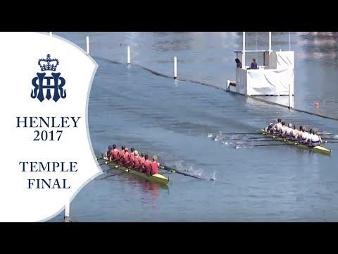 Temple Final - U.London 'A' v Brookes 'A'   Henley 2017