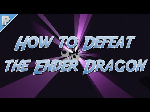 Minecraft (1.8): How to Defeat the Ender Dragon Tutorial