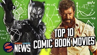Download Number Crunch: Top 10 Comic Book Movies Of All Time Video