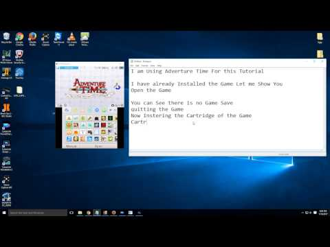 How to copy Game Save from 3DS Cartridge to CIA installed files