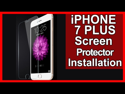 iPhone 7 Plus Screen Protector Installation Directions