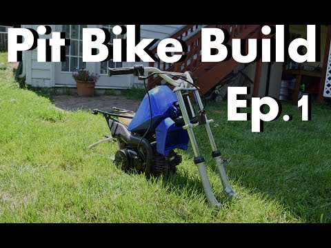 Pit Bike Build Ep.1