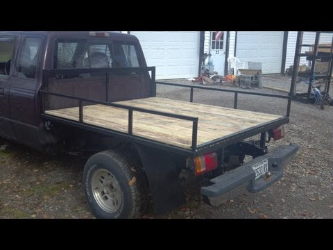 Flatbed How to build and walk around - Ford Ranger 93