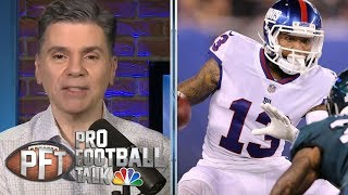 Odell Beckham Jr. has potential to get traded away from New York | Pro Football Talk | NBC Sports
