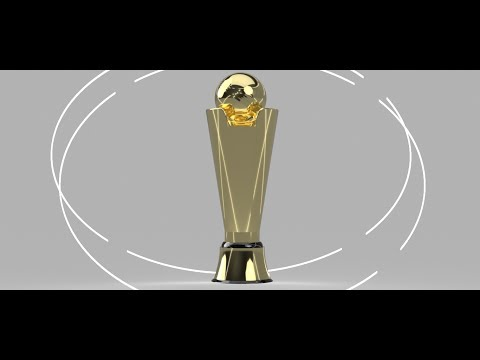 Making a ICC Champions trophy on CAD (Fusion preffered)