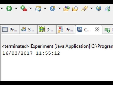 Java Date - How to Get System Date