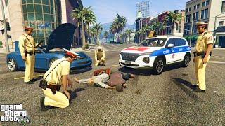 GTA 5 Cảnh Sát Giao Thông VN Tuần Tra Phát Hiện Tội Phạm Vận Chuyển Hàng Cấm Tông Cảnh Sát Bỏ Chạy