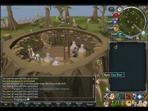 Runescape How to get to ape Atoll 2012