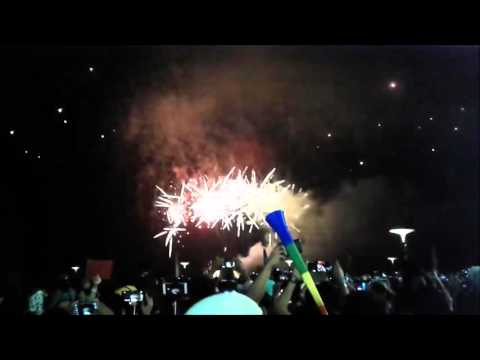 One of Philippines Best Fireworks Display New Year 2016