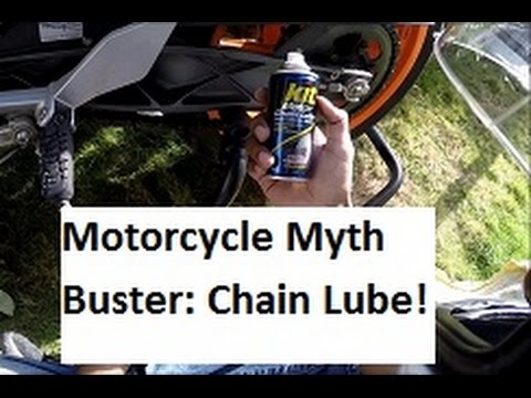 Myths about Motorcycle Chain Lube.