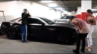 HE CRASHED MY CAR PRANK!!!