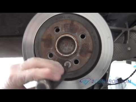 Rear Brake Pads & Rotor Replacement Mini Cooper 2006-2013