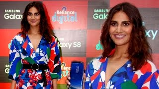Exclusive!  Sexy Vaani Kapoor Launches Samsung Galaxy S8 Mobile