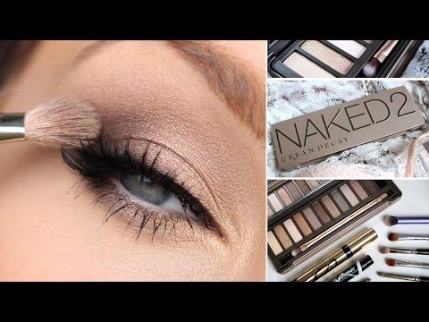 Naked eye makeup