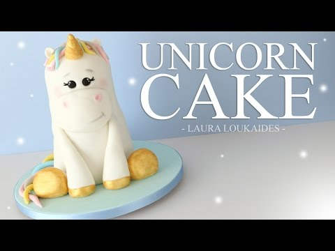How to make a 3D Unicorn Cake - Laura Loukaides