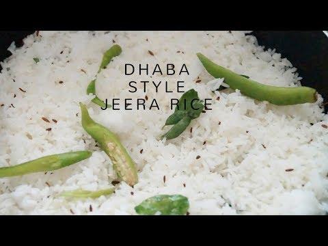Jeera Rice Recipe - Quick and Easy Dhaba style Jeera Rice