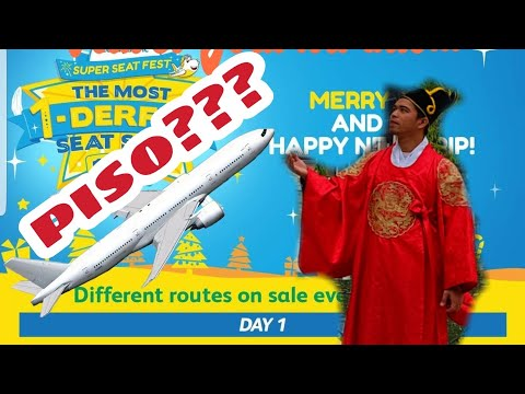 How to book Cebu Pacific Piso Sale??? Watch mo to besh! 😁