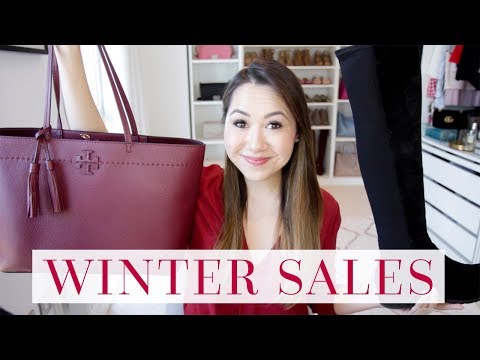 WINTER SALE GUIDE - NORDSTROM, BURBERRY, TORY BURCH etc!
