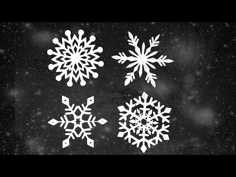 DIY Paper Snowflakes | Craft for Christmas | Frozen Theme decor ideas