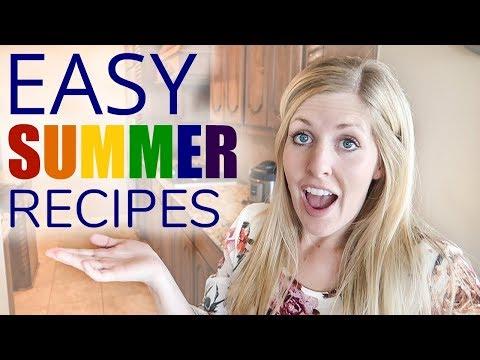 Easy Summer Recipes! Raspberry Fruit Dip, Loaded Deviled Eggs, Homemade Strawberry Milkshake