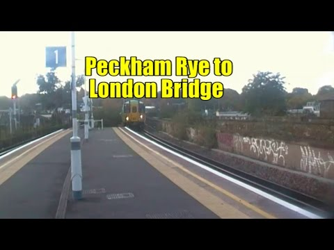 Peckham Rye to London Bridge