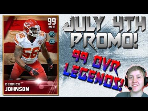99 OVR LEGENDS! | DERRICK JOHNSON LEGEND CARD? |