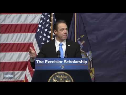 Cuomo Makes Proposal for Free Public College Tuition