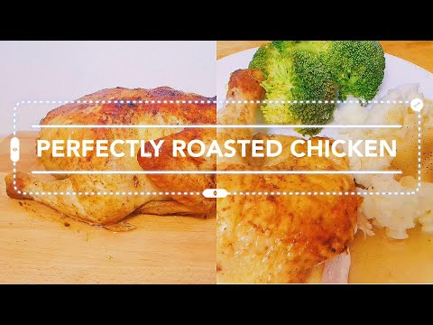 Perfectly Roasted Oven Baked Chicken
