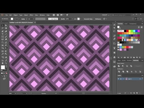How to Create a Pattern in Adobe Illustrator