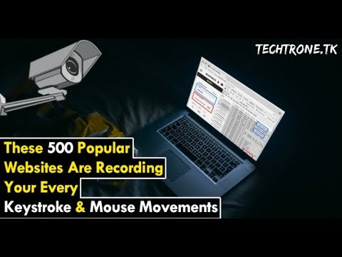 [Alert] These 500 Popular Websites Are Recording Your Every Keystroke & Mouse Movements