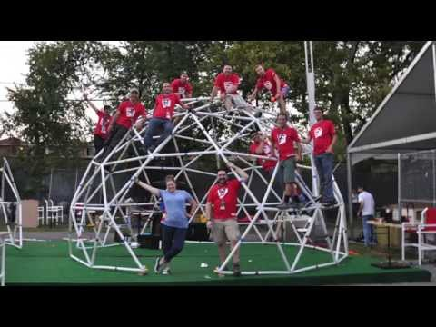 Geodesic Dome Build