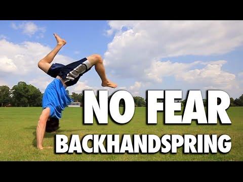 Getting Over Back Handspring Fear – Back Handspring FEAR Help