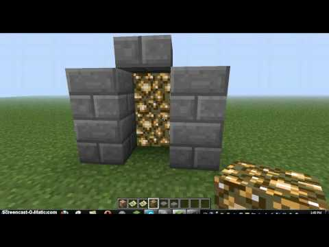 Minecraft - How to make a Simple Teleporter