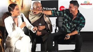 Funny: Akshay & Taapsee Debate Over Brand Promotion