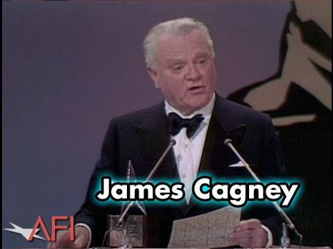 James Cagney Accepts the AFI Life Achievement Award in 1974
