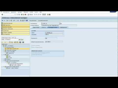 Build a Simple Web Dynpro ABAP, OTR Internationalization, DropDown (PART 8)
