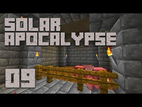 ►Solar Apocalypse LP: OINK OINK!   Ep. 9   Modded Minecraft Survival◄