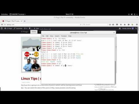 Linux Tips & Tricks ( chmod )