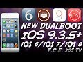 How to DualBoot Any iPhone (32-Bit) iOS 9.3.5 With iOS 6.0, iOS 6.x and iOS 7.x