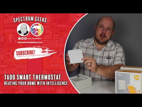 Tado Smart Thermostat Unboxing and Install Thoughts