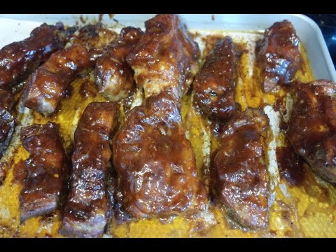 How to Make Slow Roasted Ribs in Oven
