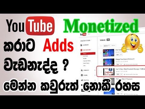why google adsense ads not show | monetized problem fix|Sinhala