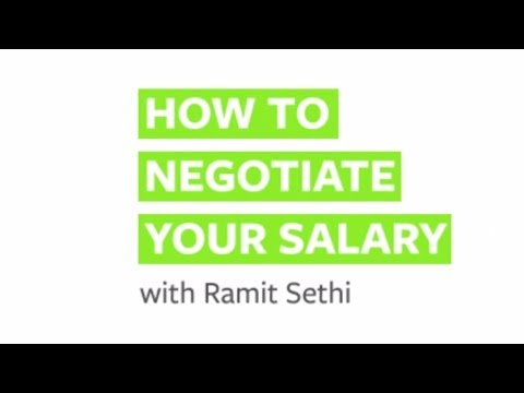 How to Negotiate Your Salary, with Ramit Sethi