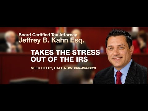 What To Do If You Have Unfiled Tax Returns? - Tax Attorney Jeffrey B Kahn Answers