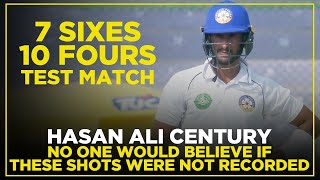 No One Would Believe If These Shots Were Not Recorded | Hasan Ali 7 Sixes 10 Fours | MG2E