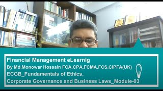 Business Eithcs, Corporate Governance and Business Law_Module-03
