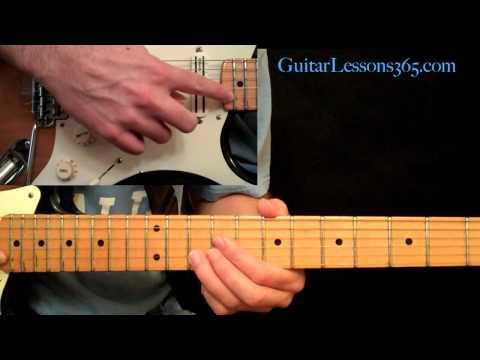 Using Harmonics While Soloing - Guitar Lesson